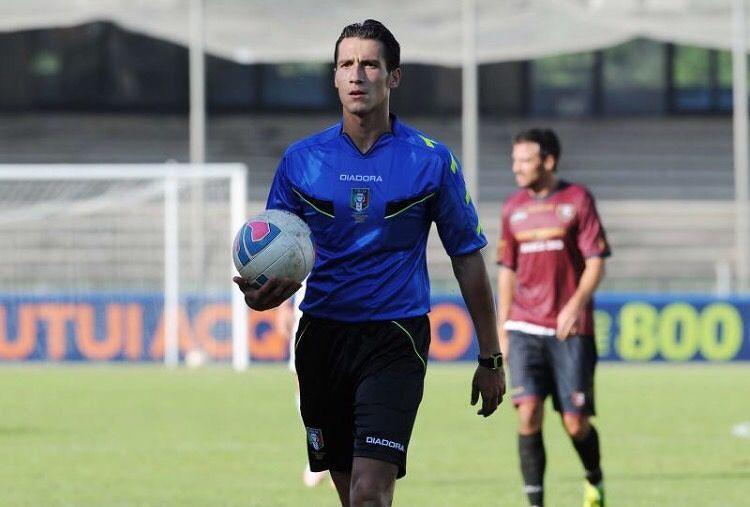 L'arbitro giuliese Antonio Di Martino promosso in serie B
