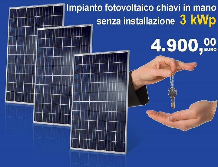 Brico#325 propone l'impianto fotovoltaico ad un prezzo speciale