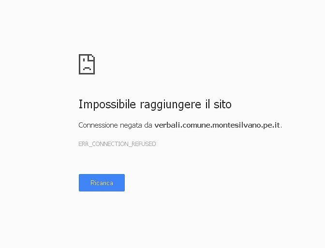 Montesilvano, il sito per vedere le multe stradali fuori uso da giorni