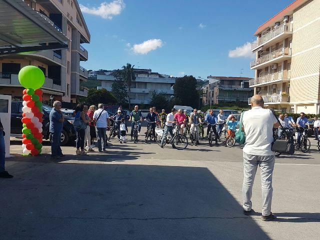 """Parte """"I bike Abruzzo"""", bike sharing turistico della Costa dei Trabocchi"""