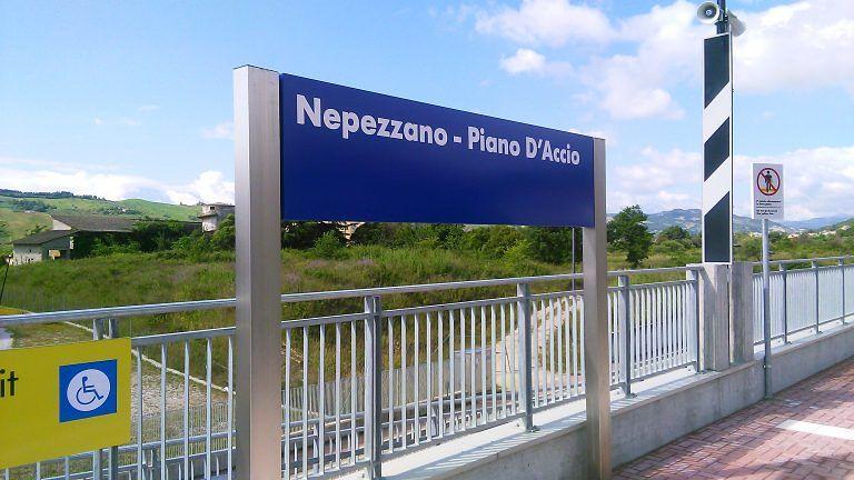Teramo, inaugurata la stazione di Nepezzano-Piano d'Accio. FOTO e VIDEO