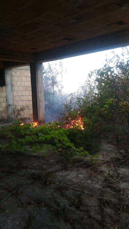 Ancora fiamme: incendi a Teramo (Casalena) e Campli (Trinità e Morge)