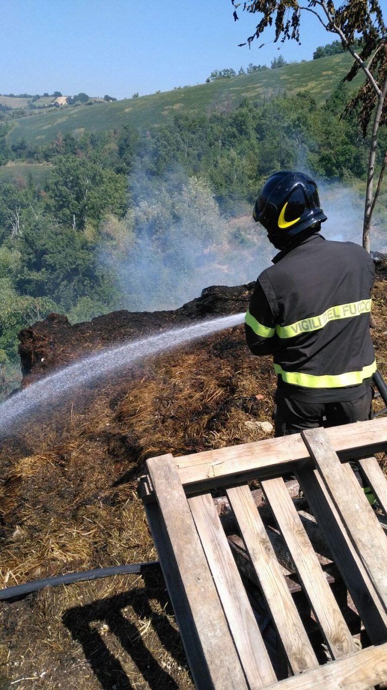 Incendi, 687 interventi in Abruzzo dei Vigili del Fuoco dal 15 giugno