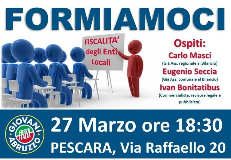 Pescara, Forza Italia Giovani si prepara per le amministrative