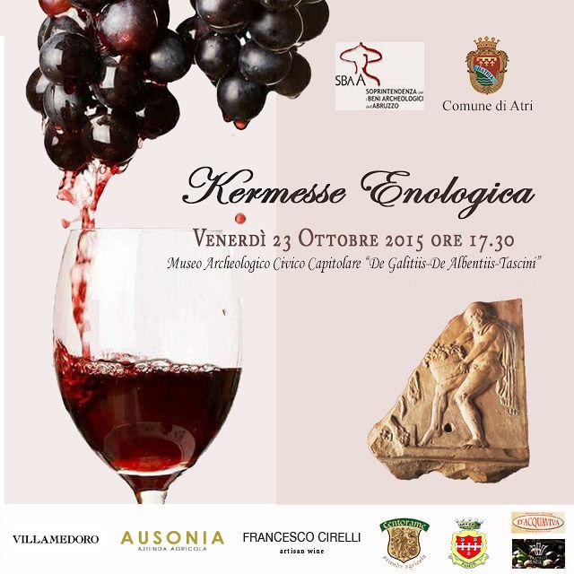 Kermesse Enologica Ottobre diVino. Hatria: il vino dall'antichità ai giorni nostri