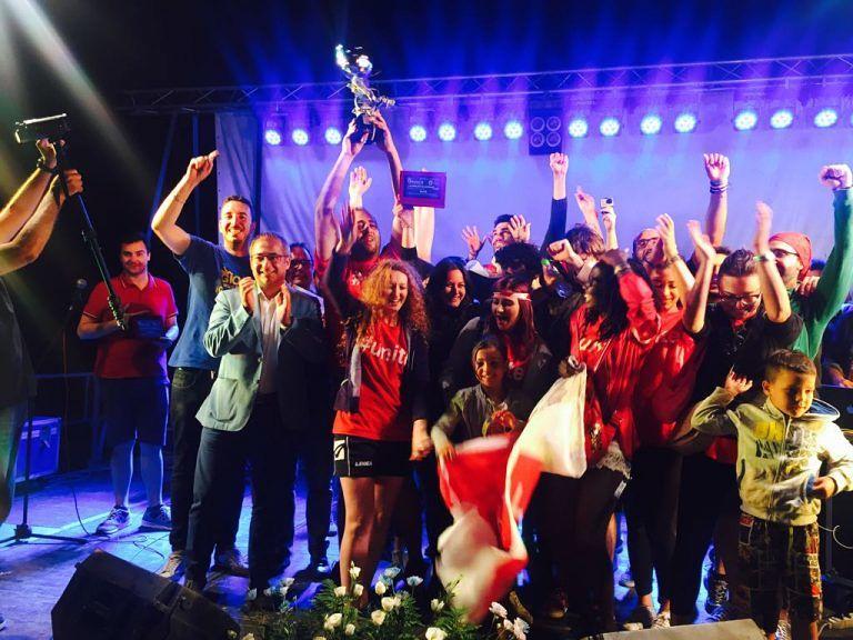 Giochi senza Frontiere, la squadra di Unite vince a Nerito