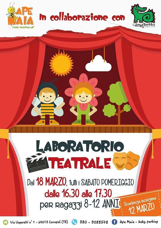 Ape Maia baby parking: partono i laboratori teatrali | Corropoli
