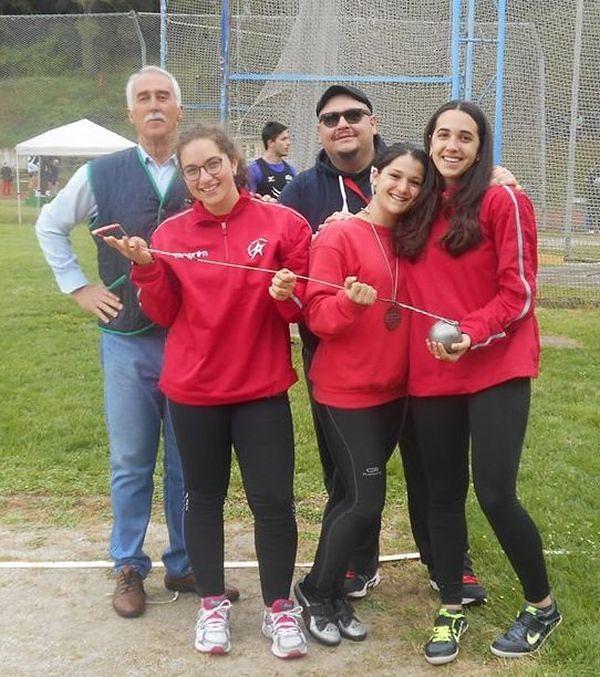 Atletica, le allieve dei lanci della Gran Sasso Teramo sedicesime in Italia