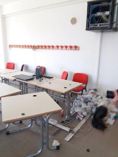Lanciano, furto al Liceo Galilei: rubati 18 computer
