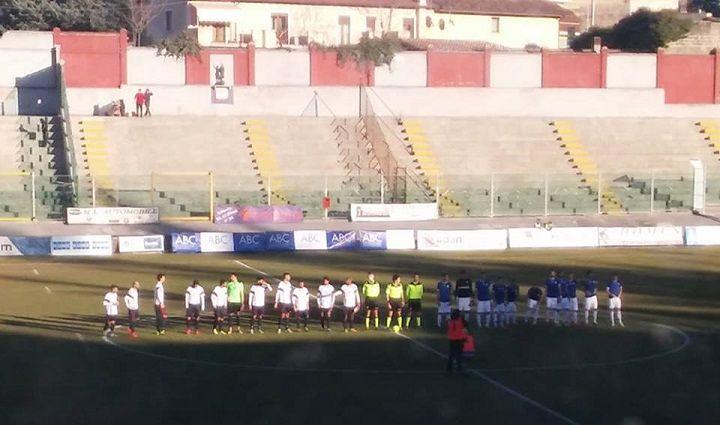 L'Aquila ringrazia Sandomenico, Rimini battuto 2-1 allo scadere