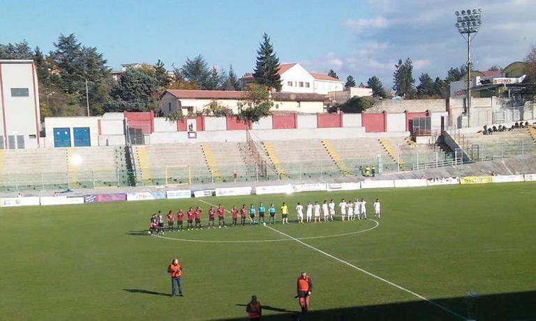 L'Aquila non va oltre l'1-1 casalingo col Santarcangelo
