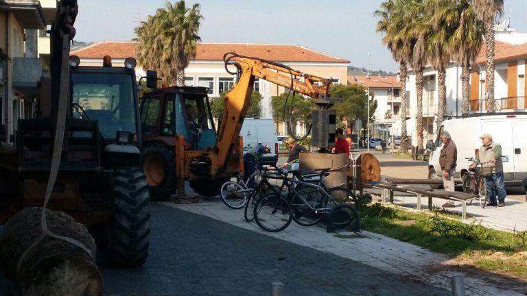 Martinsicuro, lavori in piazza Cavour. Forum: il dibattito stimola chi amministra