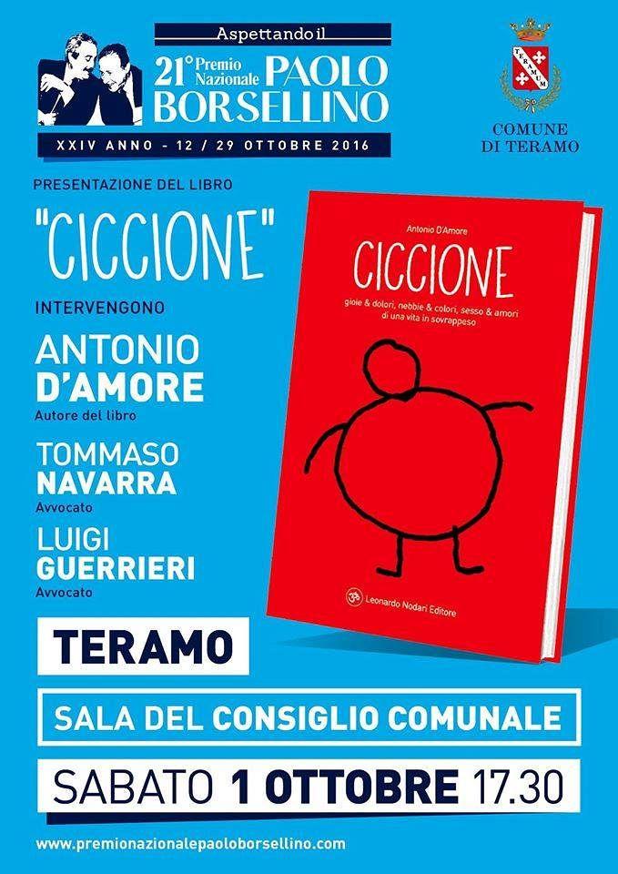 Ciccione: in Comune la presentazione del libro di Antonio D'Amore