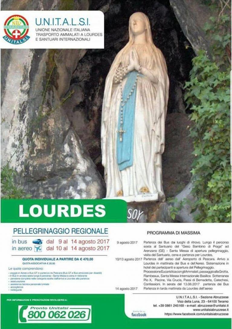 Pescara, si torna a Lourdes con la Sezione Abruzzese dell'UNITALSI