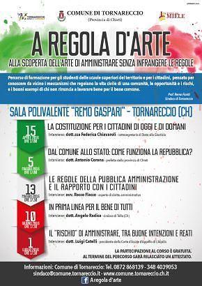 Il magistrato Luigi Catelli a Tornareccio per parlare di legalità
