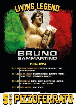Bruno Sammartino ritorna a Pizzoferrato