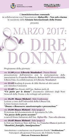 Giornata internazionale della donna, le iniziative a Francavilla