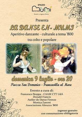 Francavilla, La danse-en MuMi allo Spazio MuMi