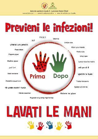 'Previeni le infezioni! Lavati le mani!', le iniziative della Asl Chieti