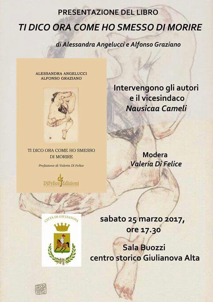 Giulianova, presentazione del nuovo libro di Angelucci e Graziano