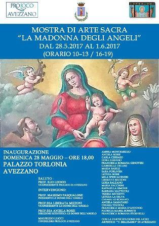 Mostra La Madonna degli Angeli ad Palazzo Torlonia ad Avezzano