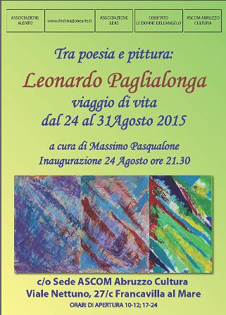 A Francavilla la mostra personale di Leonardo Paglialonga