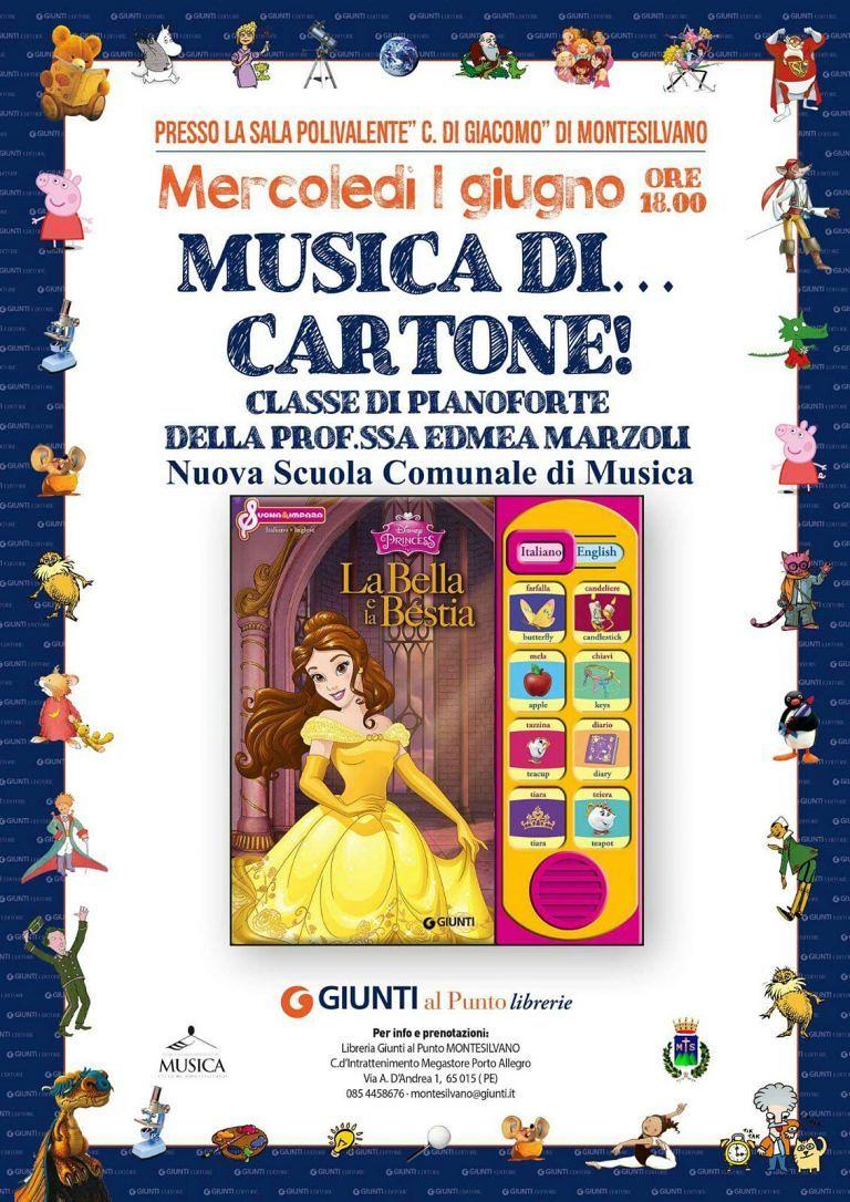 Montesilvano, le colonne sonore Disney al concerto della Scuola di Musica