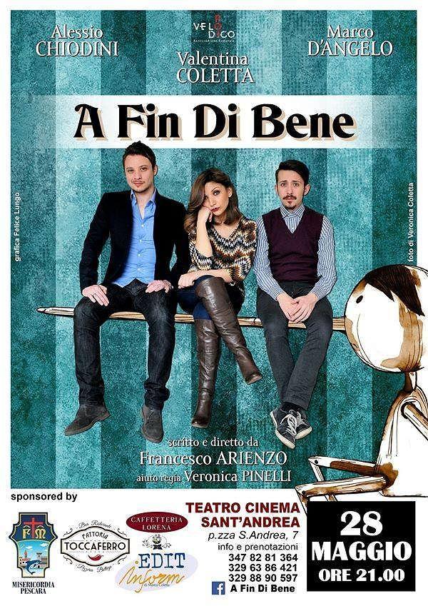 Pescara, anteprima teatrale dello spettacolo con Alessio Chiodini