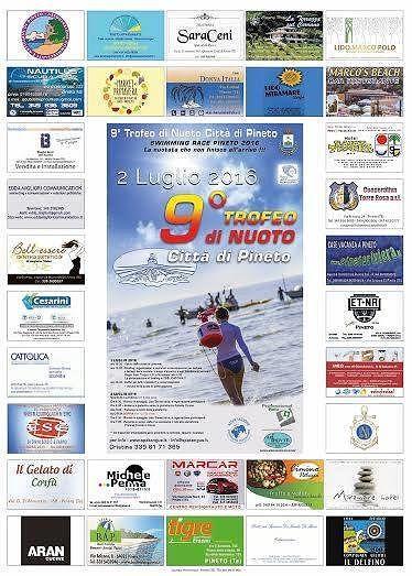 Pineto, edizione speciale per il 9° Trofeo di Nuoto