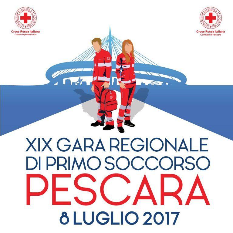 Pescara, Croce Rossa: la Gara regionale di Primo soccorso