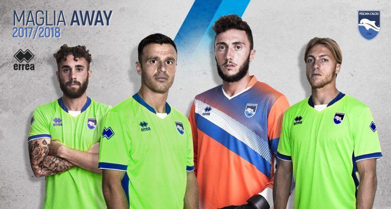 Pescara Calcio: i nuovi numeri di maglia