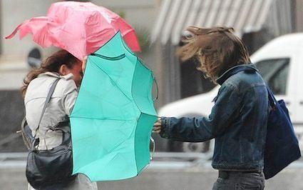 Allerta meteo in Abruzzo: vento forte e rischio grandinate