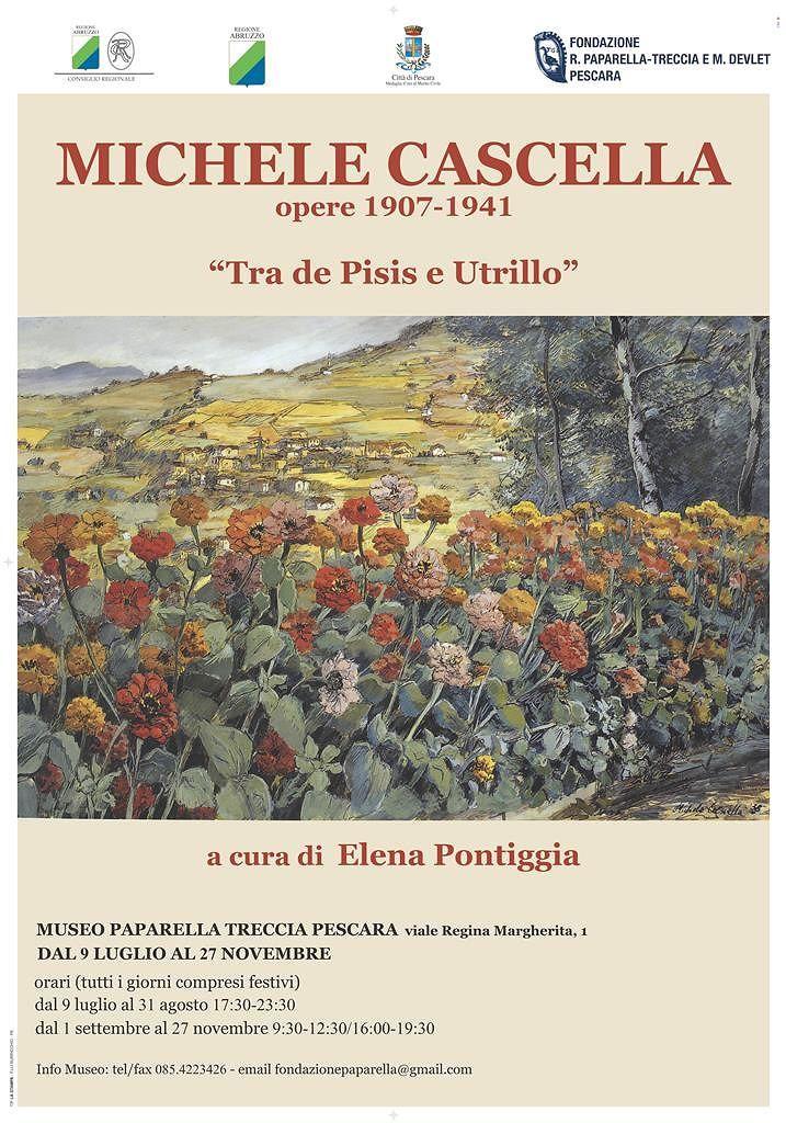 Pescara, le opere di Cascella in mostra a Villa Urania