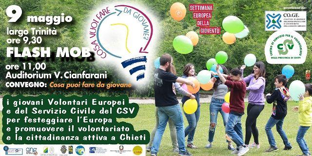 Al via le iniziative del Csv Chieti per la Settimana Europea della Gioventù