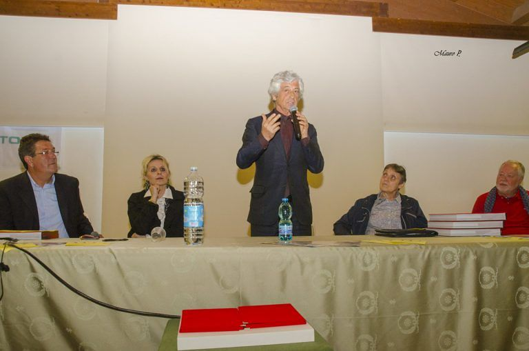 Giulianova, Gianni Rivera alla conferenza del Memorial Marco Ettorre FOTO