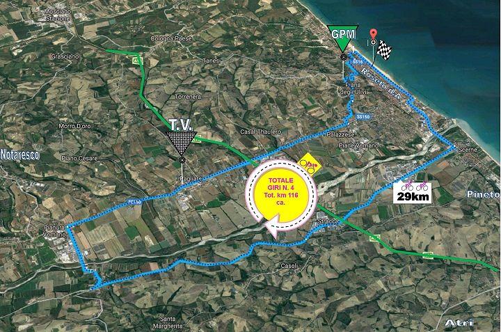 Roseto, chiusura temporanea delle strade per il Giro d'Italia femminile (SCOPRI QUALI)