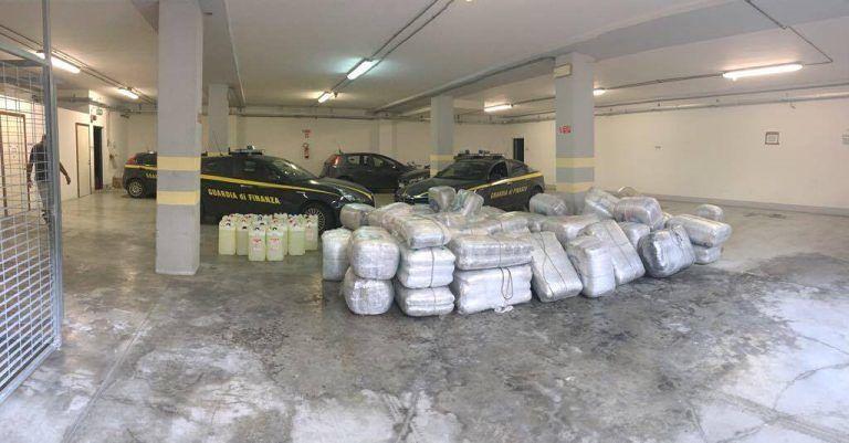 Sequestrati 2.300 chili di marijuana alla foce nord del Tronto