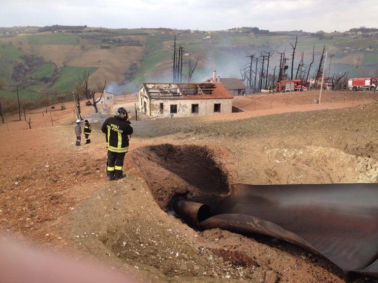 Pineto, esplosione metanodotto: inchiesta chiusa