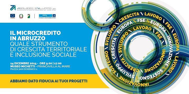 Francavilla, convegno sulla diffusione dei risultati del Fondo microcredito FSE