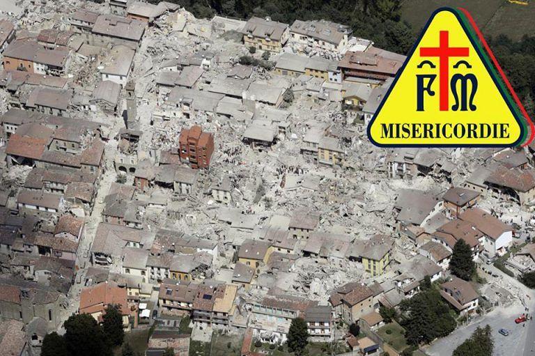 Terremoto, punto di raccolta alla Misericordia di Tortoreto: ecco cosa serve