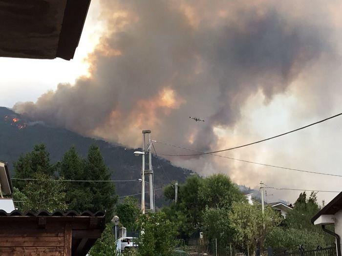 Incendi Abruzzo, diventano sette i roghi attualmente attivi sul territorio