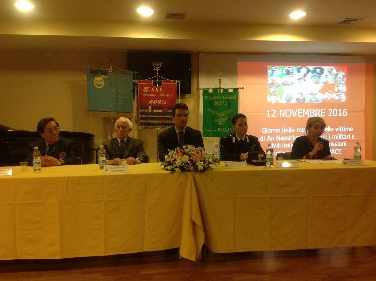 Montesilvano, cerimonia del IX Premio Nassiriya