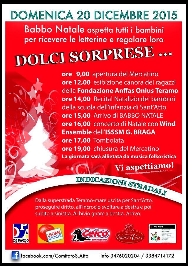 """Teramo, tutto pronto per la seconda edizione di """"Natale a Sant'Atto"""""""