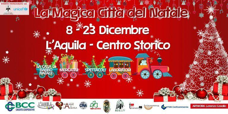 L'Aquila, il Natale in Centro Storico