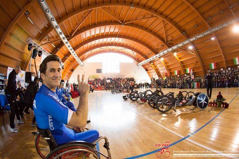 Nazionale di Ciclismo Paralimpico arrivata a Pineto
