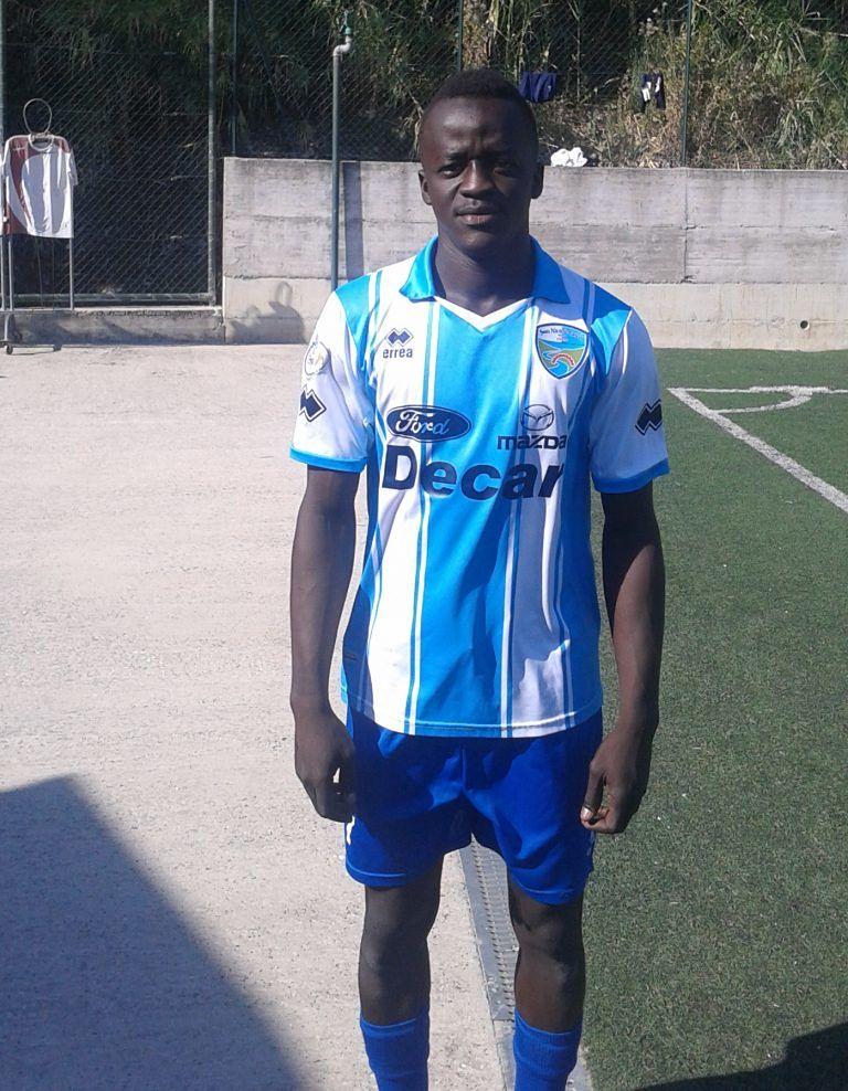 Serie D, per il San Nicolò c'è Ndiaye