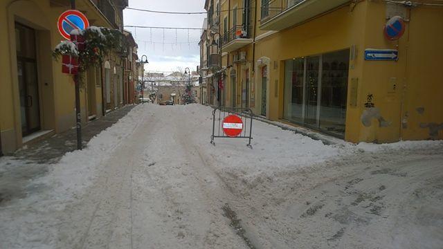 Lanciano, scuole ancora chiuse: persiste pericolo gelo