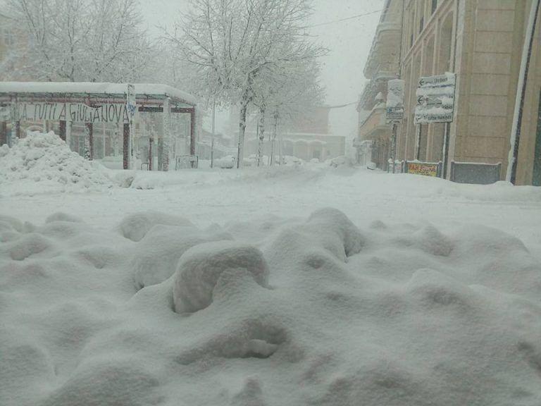 Neve a Sant'Egidio, inizia la pulizia delle strade: vedi quali