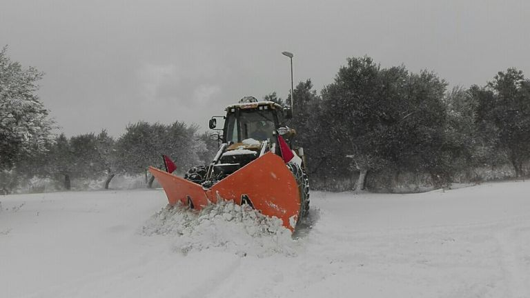 Chieti, continua l'emergenza neve: scuole chiuse fino a giovedì