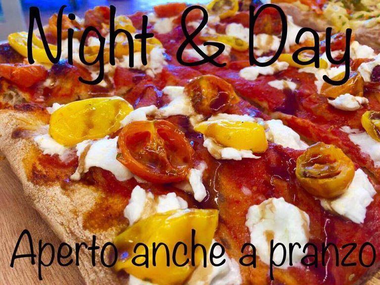 Night&Day: pizzeria, cornetteria, piadineria, creperia, kebab aperto tutti i giorni fino a tarda notte  Tortoreto